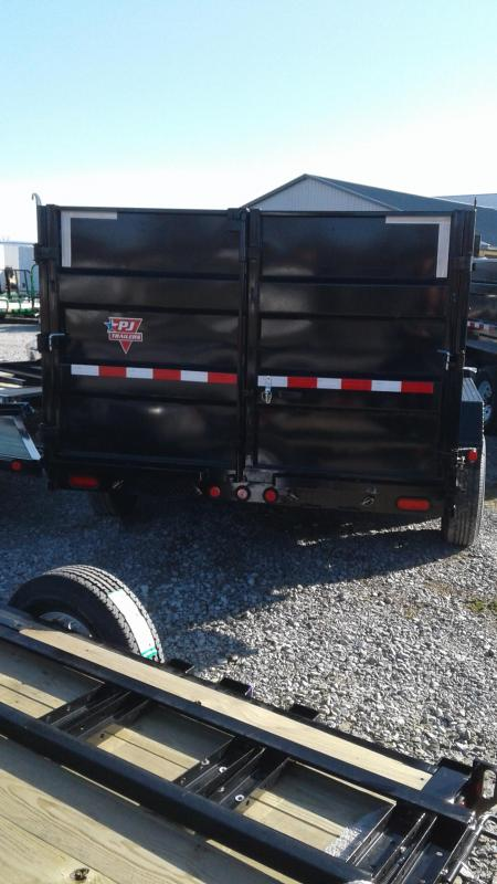 2020 83x14 Gooseneck Dump PJ Trailers DM142 Dump Trailer - Tarp Kit - 6