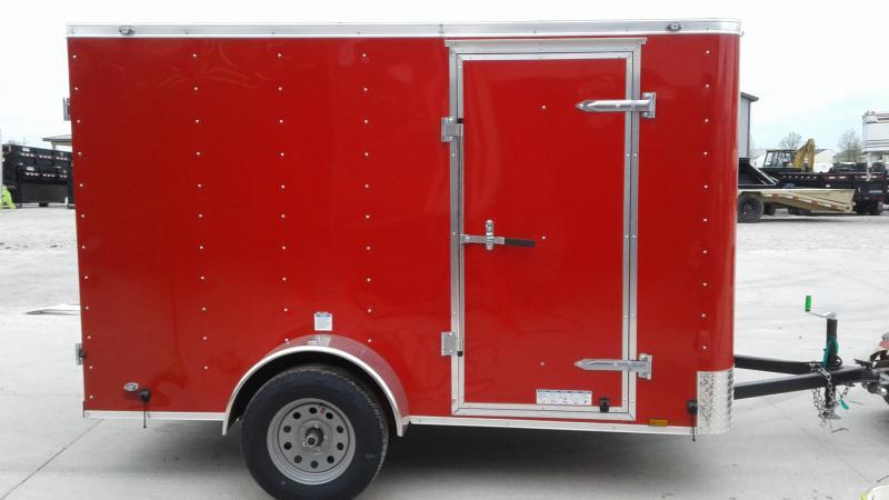 """2020 6x10 SA Cargo Mate SS610SA Enclosed Cargo Trailer - Double Door - 6"""" Additional Height (GVW:  2990)"""