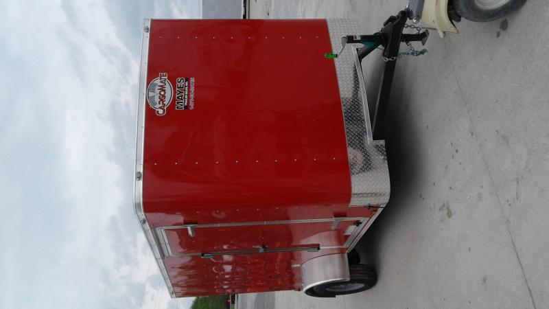 "2020 6x10 SA Cargo Mate SS610SA Enclosed Cargo Trailer - Double Door - 6"" Additional Height (GVW:  2990)"