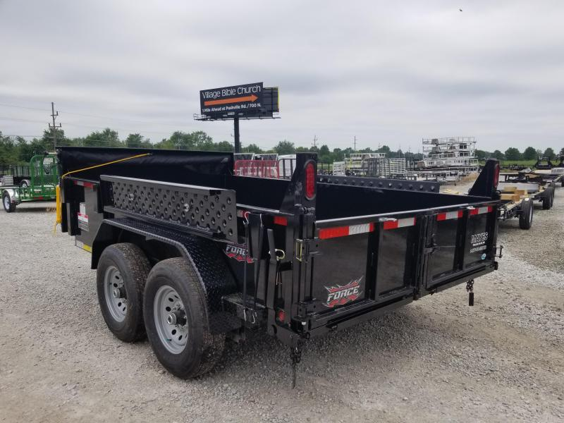 2019 82x12 Force by Forest River Inc. HDL6814TA4 Dump Trailer - (Split/Spreader Gate)(Ramps) (GVW: 12000)