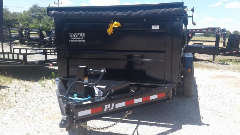 2020 83x14 Low Pro High Side PJ Trailers DM142 Dump Trailer - Split/Spread Gate - Tarp Kit - 6