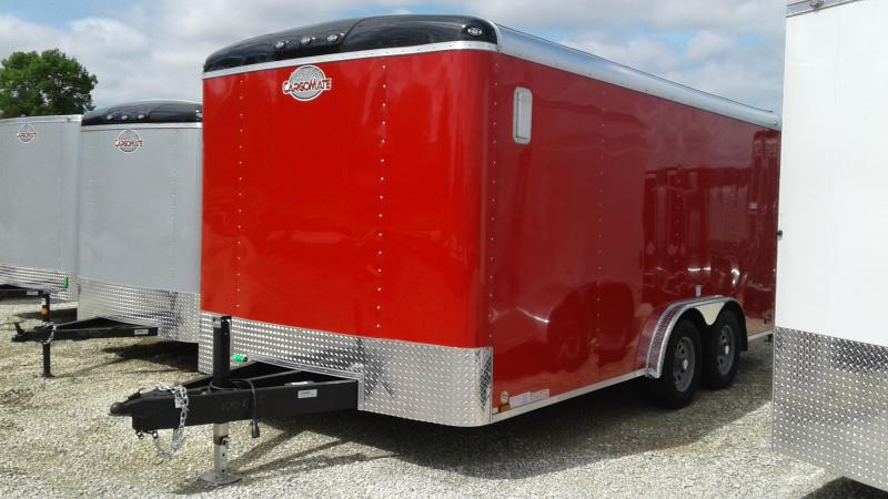 2020 8x16 TA Cargo Mate BL816TA2 Enclosed Cargo Trailer - Ramp Door - 54