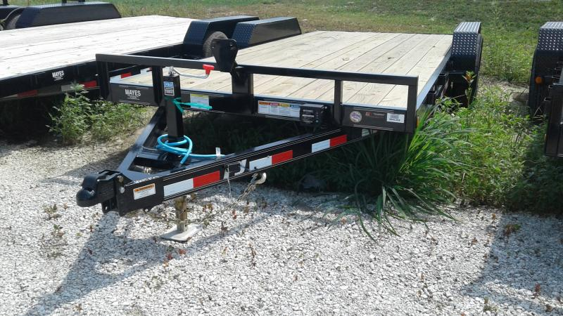 2020 18 (16+2) TA PJ Trailers CE182 Equipment Trailer - Slide In Ramps - Spare Tire MOUNT ONLY (GVW:  9899)