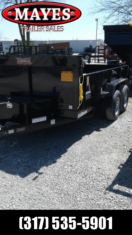 2019 6x12 Force Dump by Forest River Inc. HDLPS612TA3 Dump Trailer (GVW:  9800)