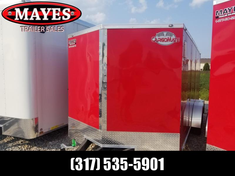2019 7x16 Cargo Mate EHW716TA2 Enclosed Cargo Trailer - Red (RD)(GVW: 7000)