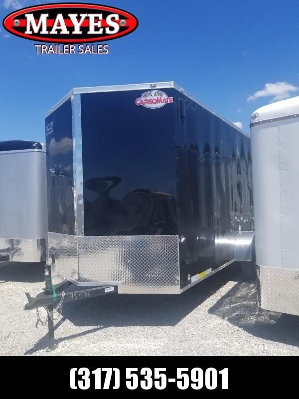 2018 6.5x12 Cargo Mate EHW612SA Enclosed Cargo Trailer - Black (RD)(GVW: 2990)