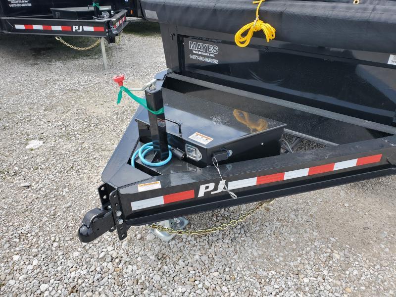 2020 83x16 TA Low Pro PJ Trailers
