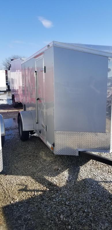 2019 5x10 SA Cargo Mate EHW510SA Enclosed Cargo Trailer - Ramp Door (GVW:  2990)