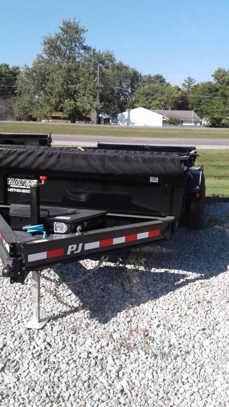 2020  83x16 Low Pro TA Dump PJ Trailers 83X16 - Tarp Kit (GVW:  14000)