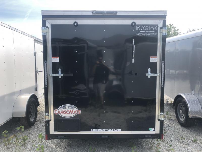 2020 6x12 SA Cargo Mate SS612SA Enclosed Cargo Trailer - Ramp Door - 6 Inch Additional Height - .030 Metal Upgrade (GVW:  2990)