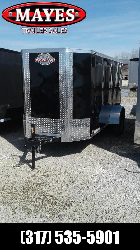 2020 5x10 Cargo Mate EHW510SA Enclosed Cargo Trailer - Ramp Door (GVW:  2990)