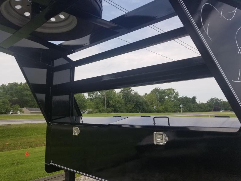 2018 102x36(33+3' Dovetail) Load Trail Triple Gooseneck Carhauler Car / Racing Trailer - w/ 6' Slide-in Ramps (GVW: 21000)