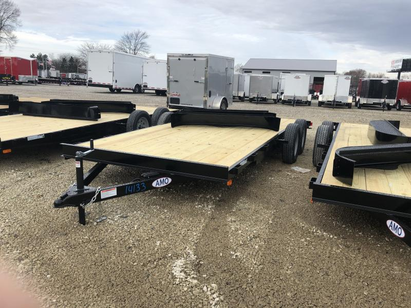 2019 82x18 (16+2) American Manufacturing Operations (AMO) UT182 Utility Trailer - Slide In Ramps (GVW:  7000) in Ashburn, VA