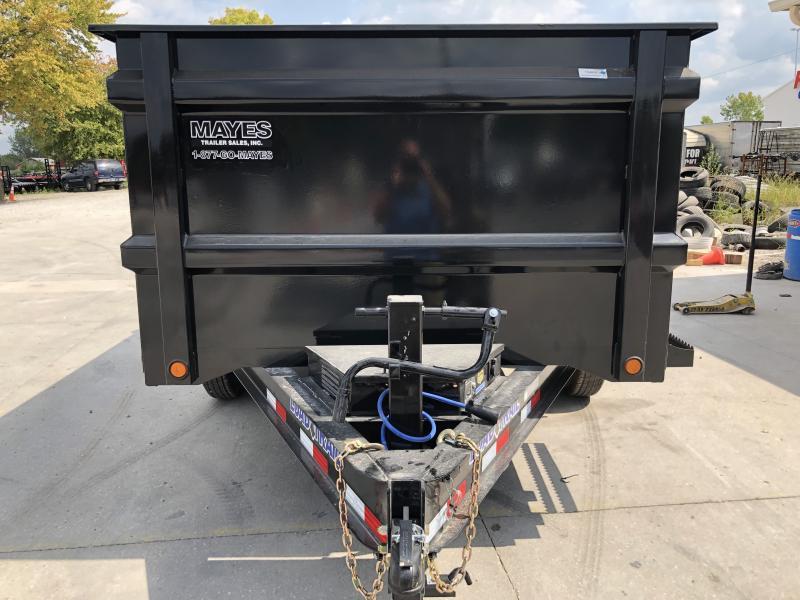 2020 83x12 TA Load Trail DT8312072 Dump Trailer - 48 Inch Sides - Scissor Hoist - Ramps - D-Rings - Max Step (GVW:  14000)