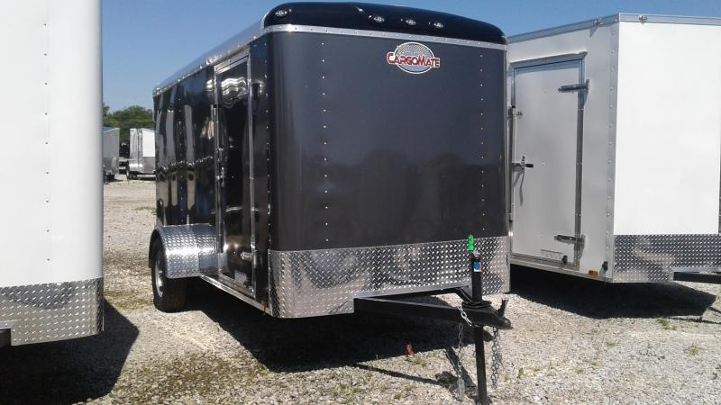 2020 6x12 SA Cargo Mate BL612SA Enclosed Cargo Trailer - Double Door with Dual Cambars - Torsion (GVW:  2990)