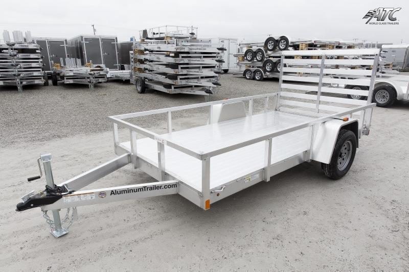 2019 6x12 Aluminum Trailer Company OUT612 Utility Trailer - w/ 4' Gate (GVW: 2990)