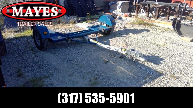 Used 2017 Stehl (ST) ST80TD Tow Dolly - Surge Brakes - 2 Inch Coupler (GVW:  2999)  -LIKE NEW-