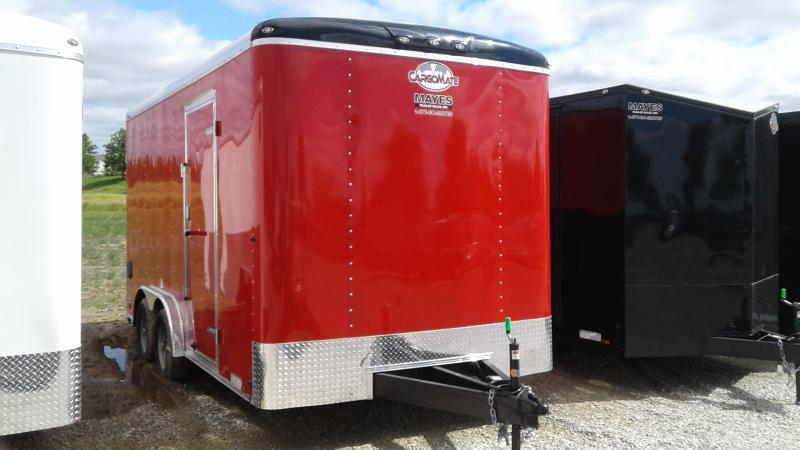 "2020 8x16 TA Cargo Mate BL816TA2 Enclosed Cargo Trailer - Ramp Door - 12"" Additional Height (GVW:  7000)"