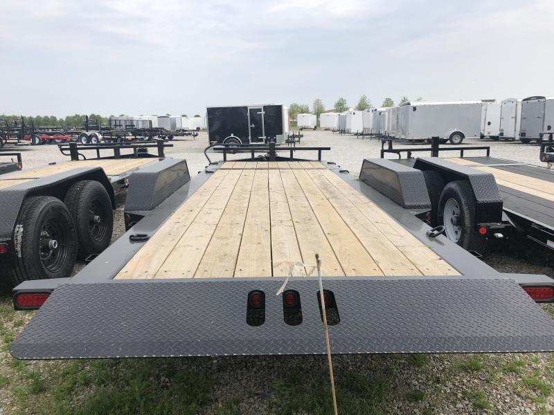 2018 83x20(16' Tilt + 4' Stationary) Tilt-N-Go Load Trail TH Equipment Trailer - (GVW: 14000)