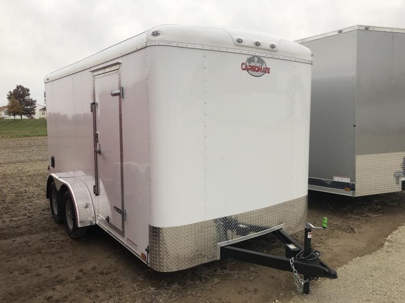 2019 7x14 Forest River BL714TA2 Enclosed Cargo Trailer - Double Door with Dual Cambars (GVW:  7000)