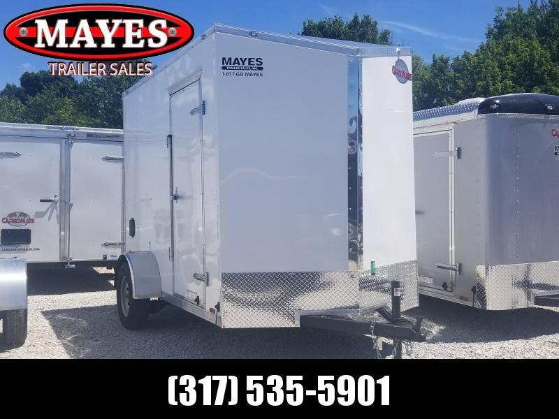 "2019 6x10 Cargo Mate EHW610SA Enclosed Cargo Trailer - White (RD)(GVW: 2990)(12"" Extra Height)"