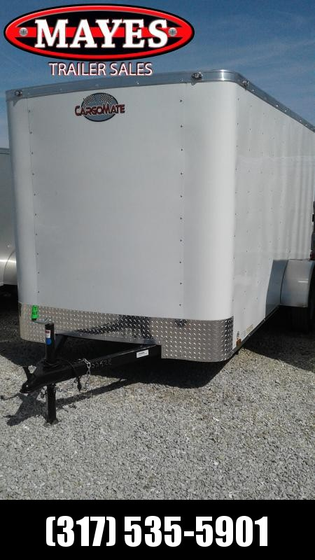 "2020 6x12 Cargo Mate SS612SA Enclosed Cargo Trailer - Double Door - 6"" Additional Height (GVW:  2990)"