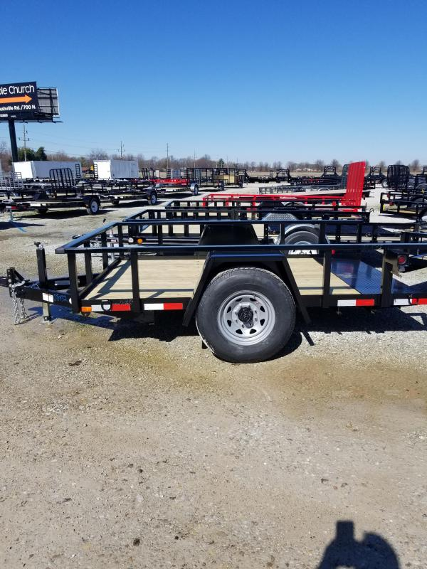 2018 80x10 American Manufacturing Operations A610TNSC Tilt Trailer (GVW: 7000)