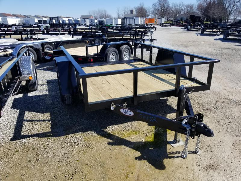 2018 80x10 American Manufacturing Operations A610TNSC Tilt Trailer (GVW: 7000)
