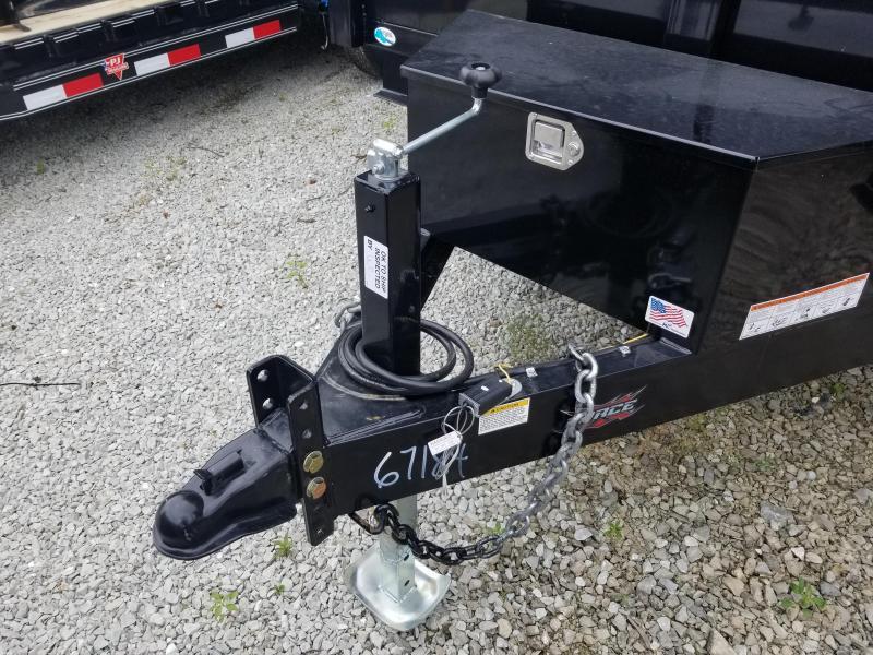 2019 82x14 Force by Forest River Inc. HDL6814TA5 Dump Trailer - (Split/Spreader Gate)(Ramps) (GVW: 14000)