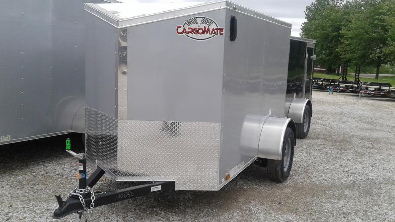 2020 5x8 SA Cargo Mate EHW58SA Enclosed Cargo Trailer - Ramp Door (GVW:  2990)