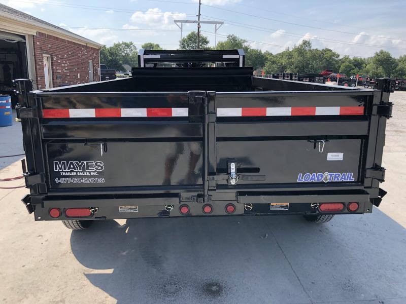 2020 83x14 TA Load Trail GD8314072 Gooseneck Dump Trailer - Ramps - D-Rings - Scissor Hoist (GVW:  14000)
