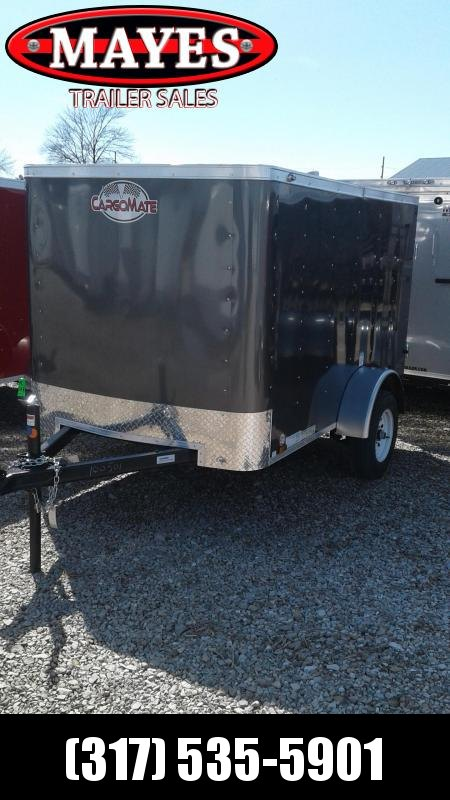 2020 5x8 Cargo Mate SS58SA Enclosed Cargo Trailer - Single Rear Door (GVW:  2000)