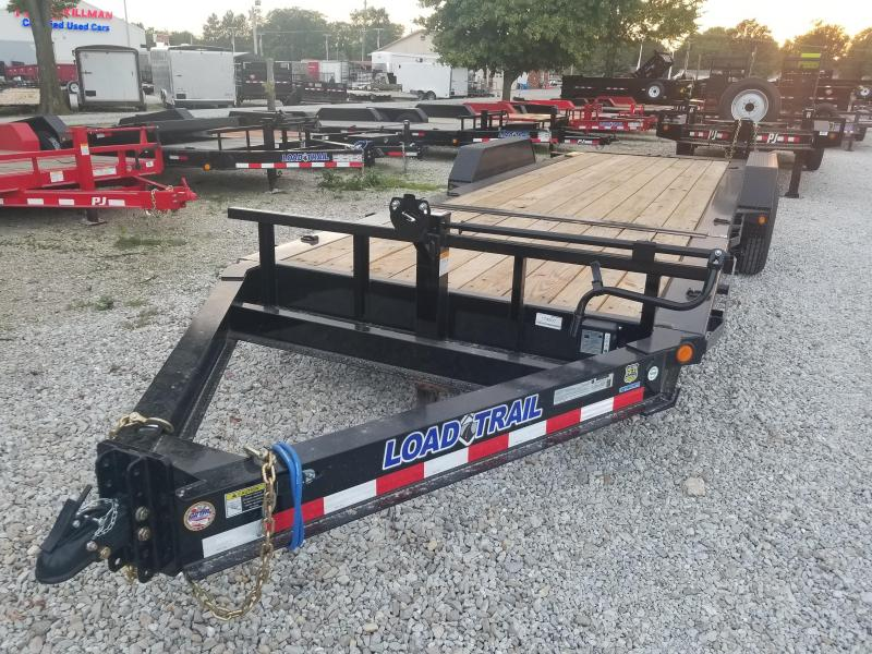 2019 83x22(6' Stationary + 16' Tilt) Load Trail TD22 Tilt-n-go Tandem Axle Equipment Trailer - (GVW: 14000)