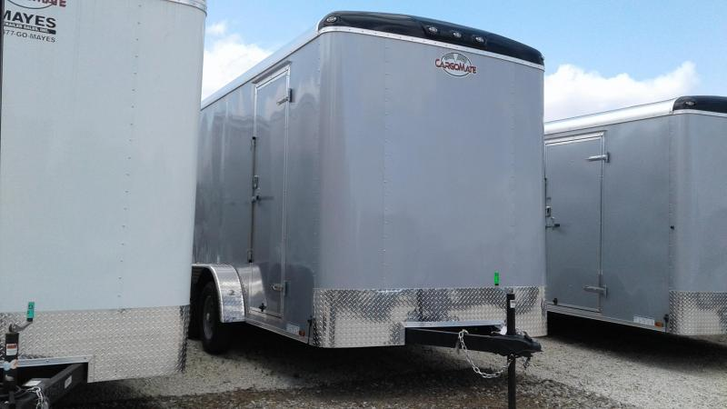 "2019 7x14 TA Cargo Mate BL714TA2 Enclosed Cargo Trailer - Ramp Door - 12"" Additional Height (GVW:  7000)"