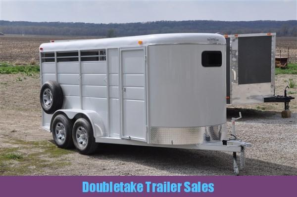 Calico Deluxe 3H BP Slant Load Horse Trailer