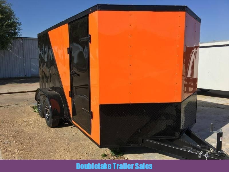 2019 Salvation Trailers S7X14TA Motorcycle Trailer