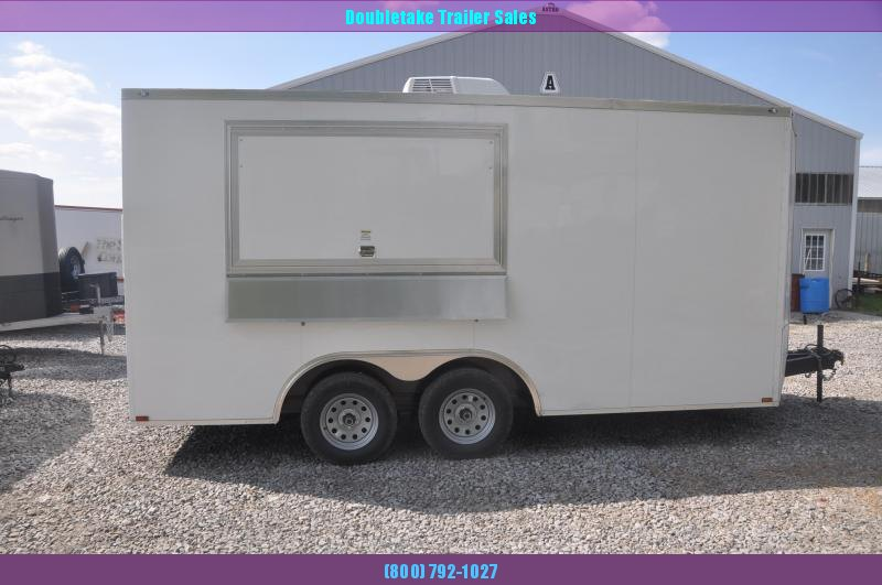 2019 Spartan 8.5X16TA Vending / Concession Trailer