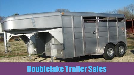 ENCLOSED Gooseneck 2 HORSE TRAILER