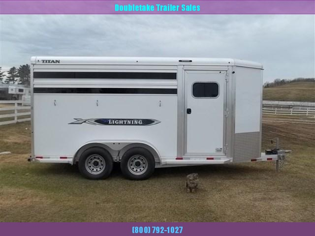 2019 Titan Trailers LIGHTNING ALUMINUM Horse Trailer in Ashburn, VA