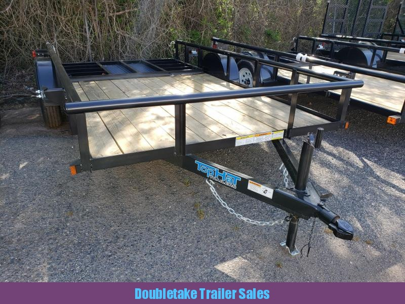 2018 Top Hat Trailers TH80X60DSP Open Utility Trailer