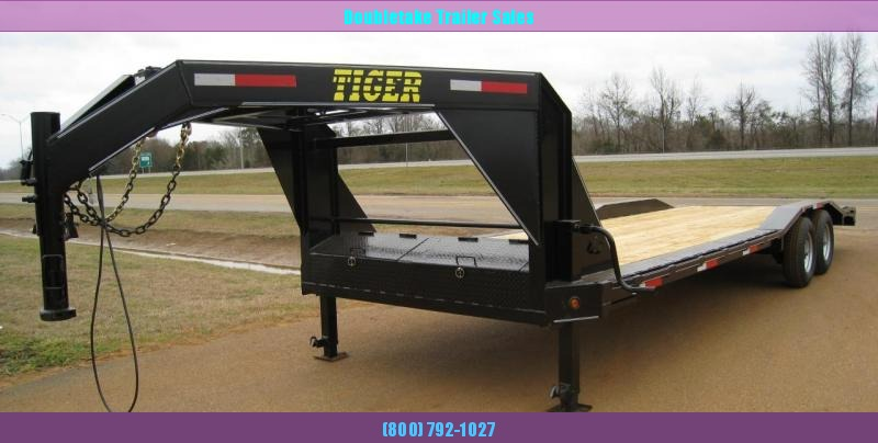 2019 Tiger T102X24GN Open Equipment Trailer