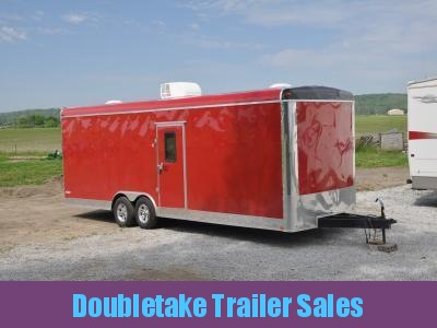 FREEDOM 8.5 X 26 Flat Front Trailer