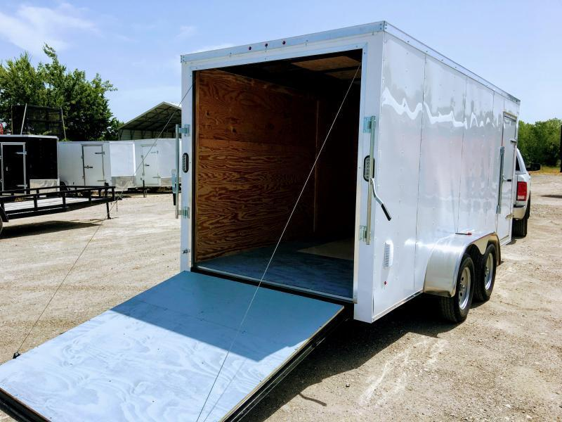 2019 Salvation Trailers 7X16TA Enclosed Cargo Trailer