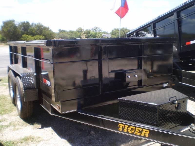 2019 Tiger T77X12D OPEN Dump Trailer
