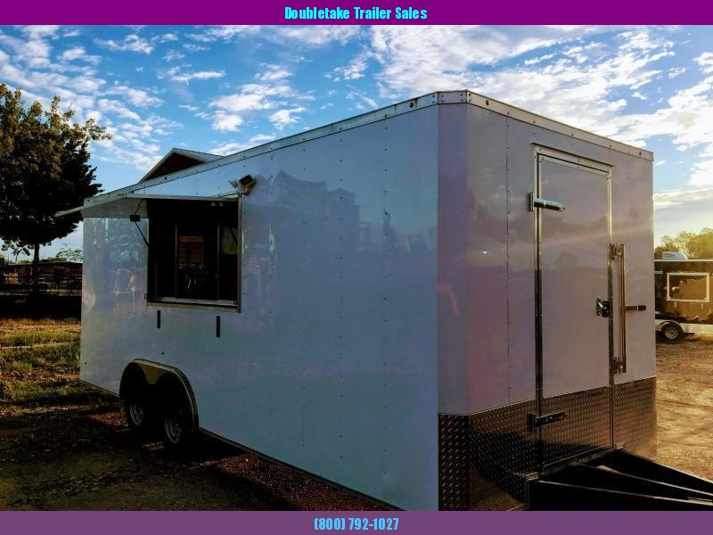 2019 Salvation Trailers 8.5x20Ta Vending / Concession Trailer