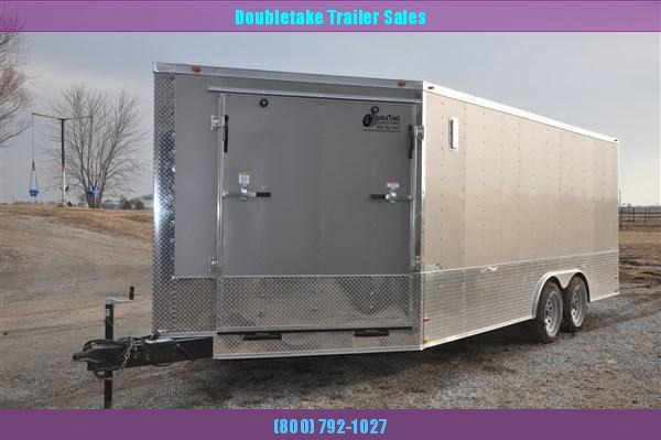 8.5X18 SNOWMOBILE TRAILER