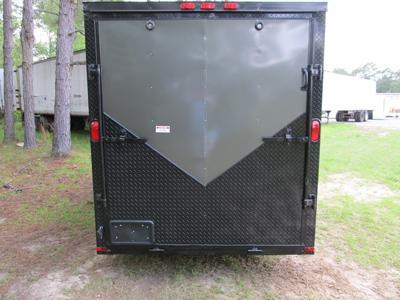 SALVATION ELITE 6 X 12 Single Axle Cargo Trailer
