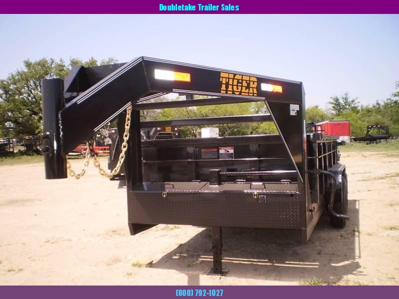 2019 Tiger 77X14GNDT Open Dump Trailer