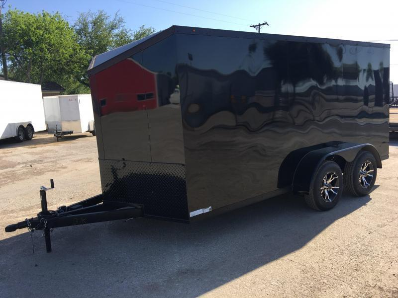 2019 Salvation Trailers 7X14TA Motorcycle Trailer
