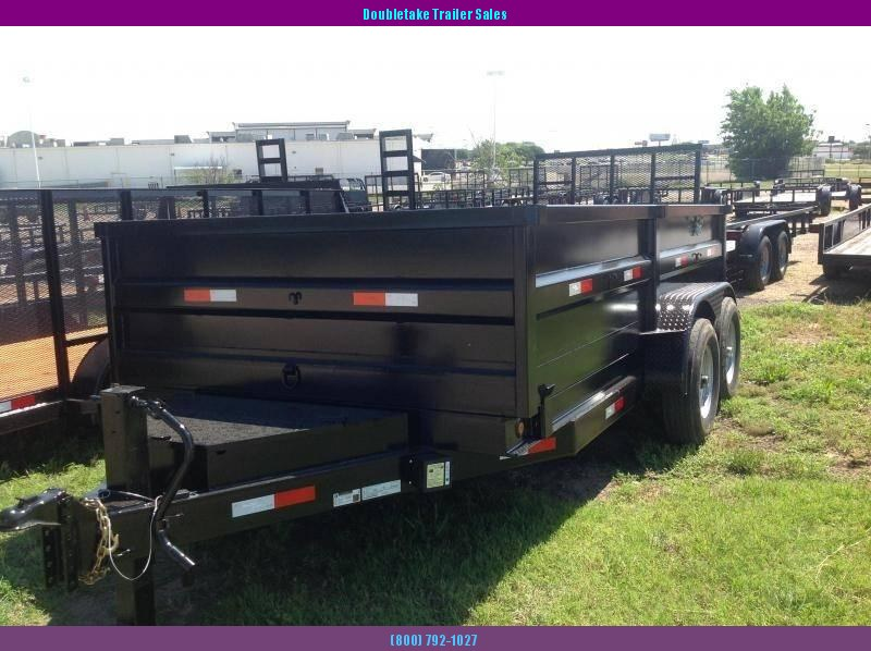 2019 Salvation Trailers S7X14TAD Open Dump Trailer in Fairfax, MO